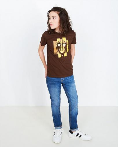 T-shirt met apenprint